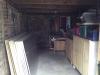 The garage before work begins