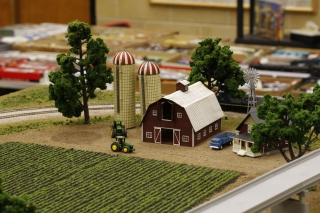 Farm scene - complete view