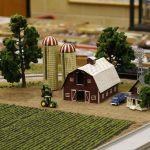 Farm scene - complete view