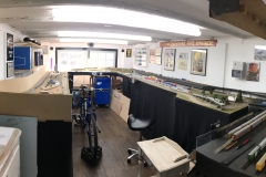 Panoramic photo of the layout
