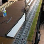 Loco storage track paving