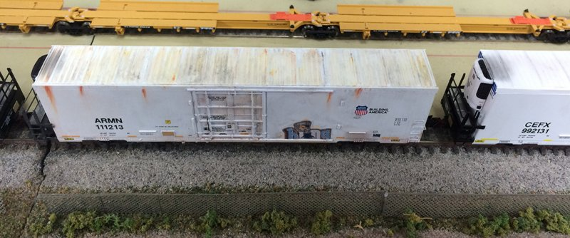 Weathered 64' Trinity Reefers Top