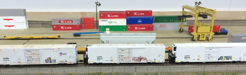 Weathered 64' Trinity Reefers