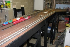 Track laying and electrical