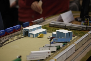 Engine shed and workshop