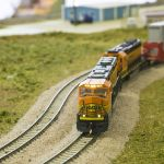 BNSF 9838 on Rochelle Intermodal