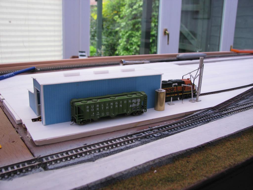 Loco storage track