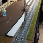 Loco storage track paving