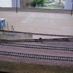 Yard entrance - track
