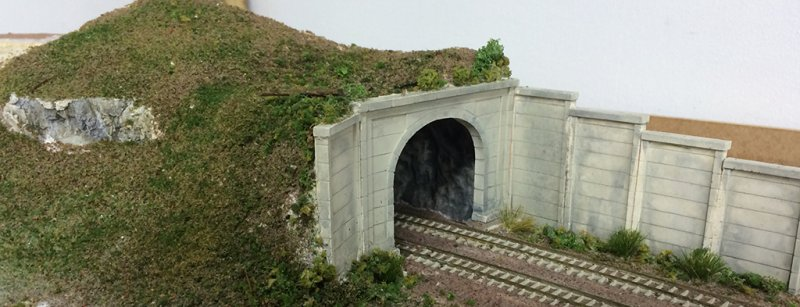 View of the whole tunnel